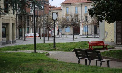 Coronavirus, strade e piazze deserte anche a Lissone FOTO