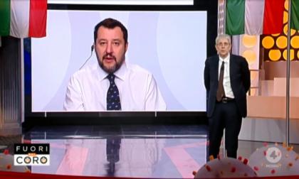 """Camparada, Matteo Salvini sul tema profughi: """"Le restrizioni devono valere per tutti"""""""