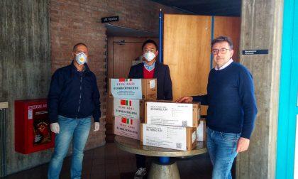 Agrate: oltre 3mila mascherine donate a volontari e operatori in campo contro l'emergenza Coronavirus