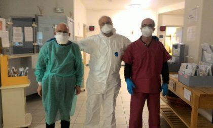Agrate: al Polo Sanitario sventola un tricolore di speranza
