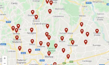 Cartina Geografica Della Brianza.Coronavirus Brianza La Mappa Del Contagio Comune Per Comune Prima Monza