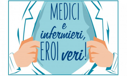 Medici e infermieri, sono eroi veri!