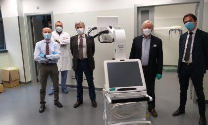Coronavirus, nuovo macchinario per l'ospedale di Vimercate