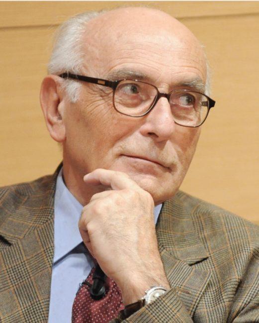 Il professor Carlo Vergani, geriatra
