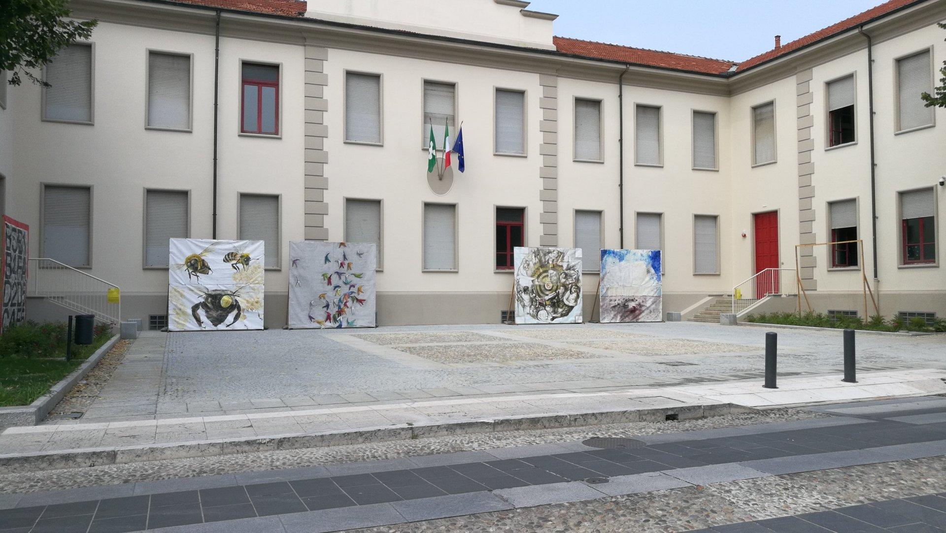 Vincenzo Rinaldi Nova Milanese opere all'asta per aiutare caritas e san vincenzo - prima monza