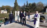 Vimercate, l'omaggio del sindaco alla città e ai suoi caduti