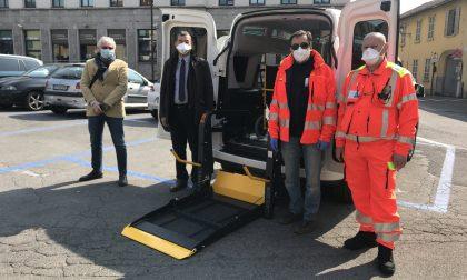 Coronavirus: ad Avps un nuovo mezzo per il trasporto dei malati