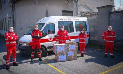 La Croce Rossa di Villasanta dona 1200 dispositivi di protezione individuale al San Gerardo FOTO