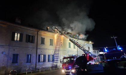 Carnate: fiamme in Cascina Camperia, famiglie evacuate