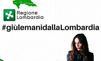 In tanti dicono: #Giù le mani dalla Lombardia FOTO