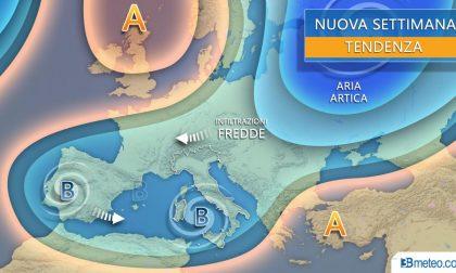 Meteo in Brianza, arriva il vortice mediterraneo
