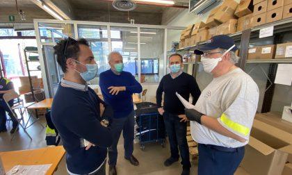 Monza Soccorso, in meno di un mese prodotte 90mila mascherine