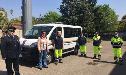 I volontari della Protezione Civile di Desio hanno un nuovo mezzo