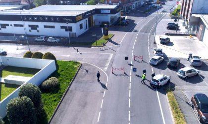A Meda proseguono i controlli tra posti di blocco e droni