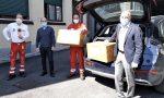 Il Rotary Club Monza Est dona duemila mascherine alla Croce Rossa di Monza