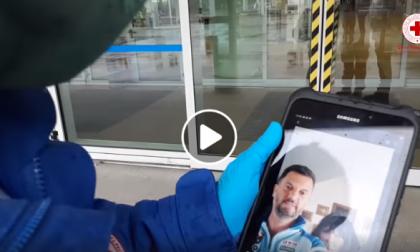 Un video dal Messico alla Croce Rossa di Monza per dare conforto al papà ricoverato al San Gerardo