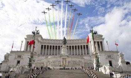 Sarà un 2 Giugno insolito, senza parata ma con il Giro d'Italia delle Frecce Tricolori