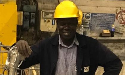 Diouf Saliou, i colleghi raccolgono 8.000 euro per la famiglia