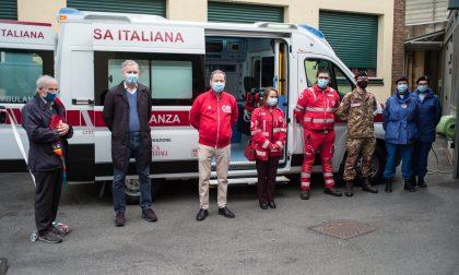 Monza, inaugurata sala di rianimazione mobile