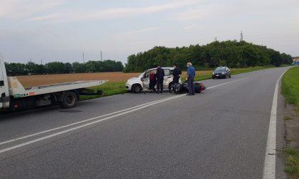 Grave incidente, motociclista soccorso in codice rosso VIDEO