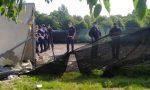 Nova Milanese: sgomberato campo nomadi abusivo FOTO VIDEO