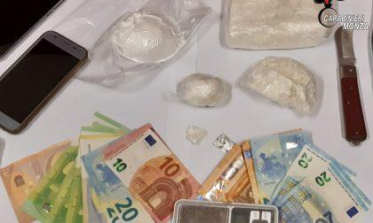 Cocaina in camera da letto, arrestati giovani sposini