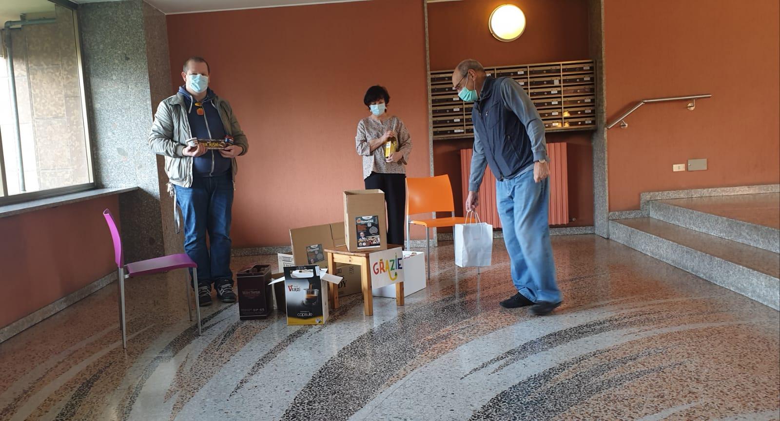 Vincenzo Rinaldi Nova Milanese a meda la solidarietà passa dai condomini - prima monza