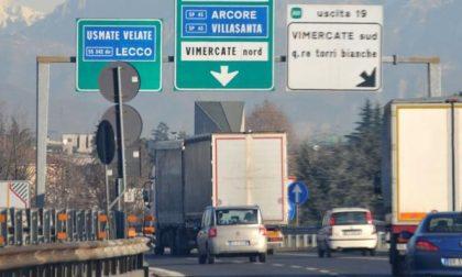 Tangenziale Est: chiusura di 13 giorni per gli svincoli Arcore/Villasanta e Torri Bianche