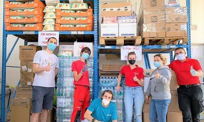 La Croce Rossa organizza raccolte alimentari nei condomini di Monza