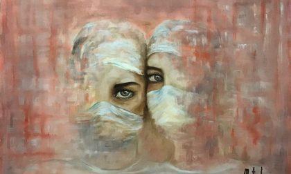 L'arte racconta il sacrificio di medici e infermieri