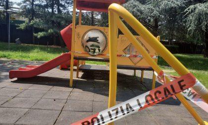 Zona arancione, chiuse le aree gioco in parchi e giardini