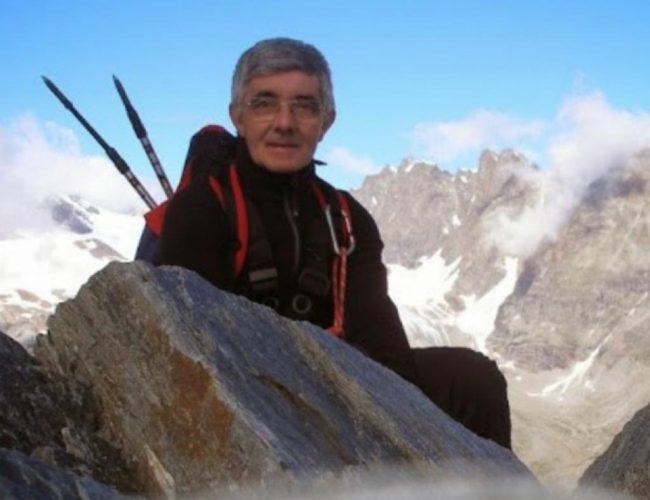 Don Gianpiero Magni, socio Cai, è un grande appassionato di montagna.