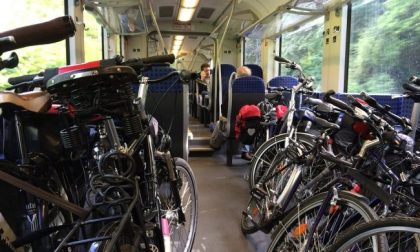 Troppe biciclette sul treno: intervengono le forze dell'ordine