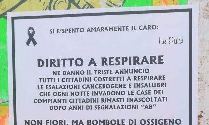 A Sant'Albino spuntano epigrafi dedicate ad Asfalti Brianza