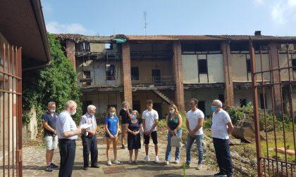 Il centro storico di Burago pronto a voltare pagina