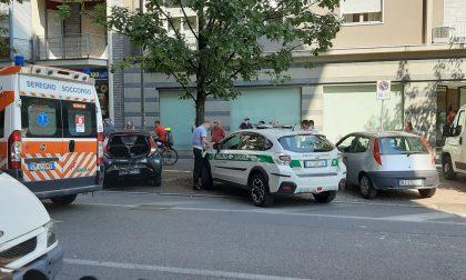 Tamponamento a Seregno, in due finiscono in ospedale FOTO