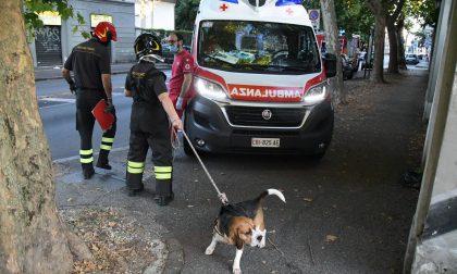 Si tuffa nel Villoresi per salvare il cane