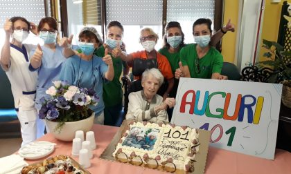 Nonna Angela spegne 101 candeline