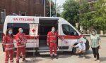 Un nuovo mezzo di trasporto per la Croce Rossa di Villasanta