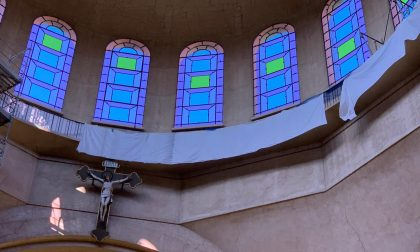 Conclusi i lavori, riprendono le funzioni religiose nella chiesa Santa Maria Nascente di Meda