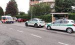 Incidente a Seregno, coinvolto un centauro FOTO