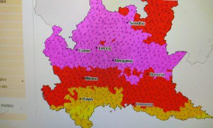 Rischio di forti temporali, è ancora allerta meteo in Brianza (e in Lombardia)