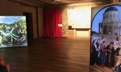 Trezzo, inaugurata la mostra di Raffaello