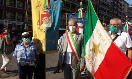 Anche Muggiò in piazzale Loreto nel ricordo dell'eccidio dei 15 Martiri