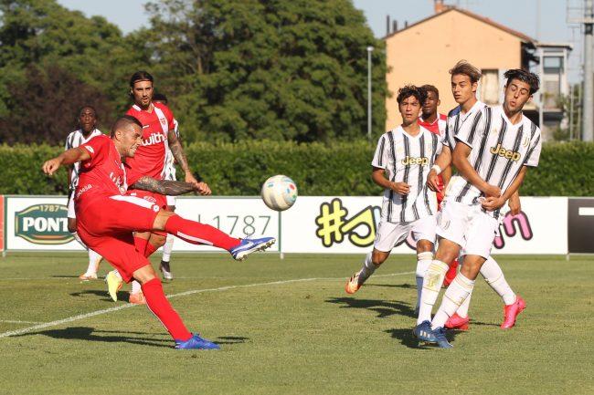 Monza calcio partita contro Juventus Under 19