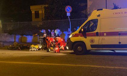 Incidente sulla Monza Saronno: due giovanissimi finiscono in ospedale FOTO