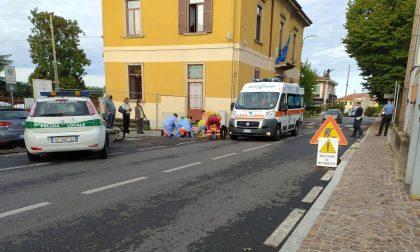 Si sente male mentre è in bici: arriva l'elisoccorso a Veduggio
