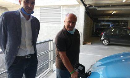 In Provincia installata colonnina per ricarica auto elettriche