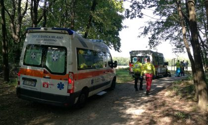Carabinieri e ambulanze all'Oasi Lipu, atterra anche l'elisoccorso  FOTO
