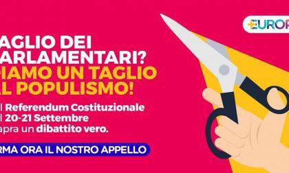 """Referendum: """"Diamo un taglio al populismo"""""""